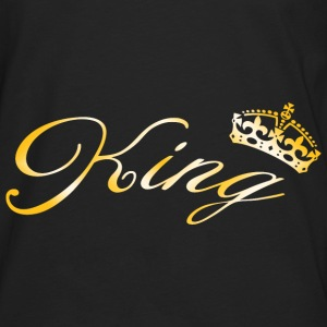 King Crown Hoodies - Men's Premium Long Sleeve T-Shirt
