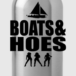 Boats And Hoes T-Shirts - Water Bottle