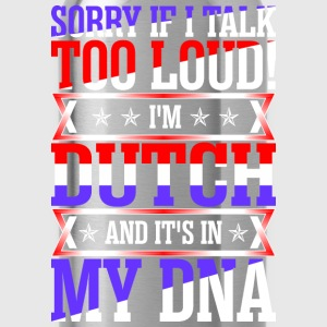 I Am Dutch And Its In My DNA T-Shirts - Water Bottle