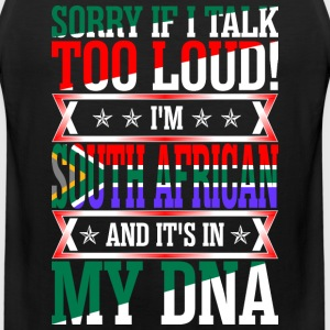 I Am South African And Its In My DNA T-Shirts - Men's Premium Tank