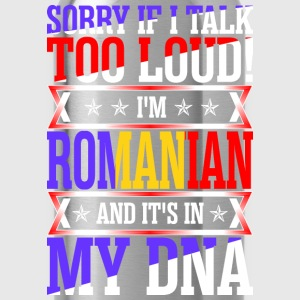 I Am Romanian And Its In My DNA T-Shirts - Water Bottle