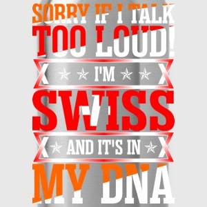 I Am Swiss And Its In My DNA T-Shirts - Water Bottle