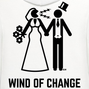 Wind Of Change (Stag Night, Bachelor Party, Groom) - Contrast Hoodie