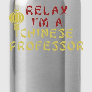 Chinese Professor - Relax I'm a Chinese professor - Water Bottle
