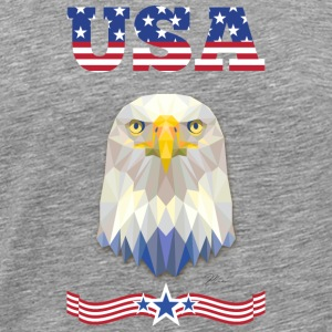 USA Eagle Long Sleeve Shirts - Men's Premium T-Shirt