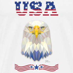 United States of America Hoodies - Men's Premium T-Shirt