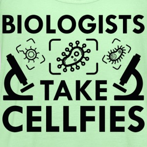 Biologists Take Cellfies - Women's Flowy Tank Top by Bella