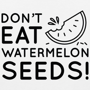 Watermelon Seeds - Men's Premium Tank