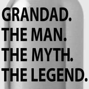 GRANDAD the man the myth the legend. T-Shirts - Water Bottle