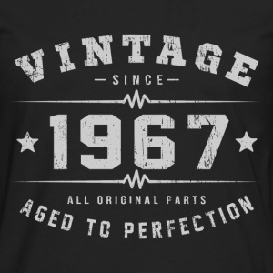 1967 Aged To Perfection T-Shirts - Men's Premium Long Sleeve T-Shirt