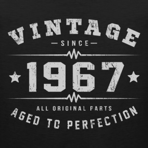 1967 Aged To Perfection T-Shirts - Men's Premium Tank