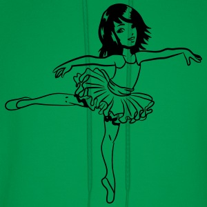 Ballerina dancing joy T-Shirts - Men's Hoodie