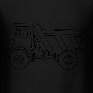 Dump truck or semitrailer Bags & backpacks - Men's T-Shirt