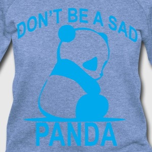 dont_be_a_sad_panda_ - Women's Wideneck Sweatshirt
