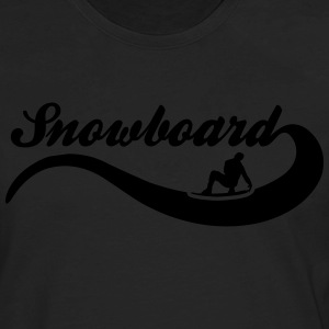 snowboard T-Shirts - Men's Premium Long Sleeve T-Shirt