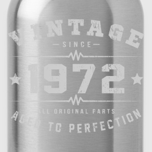 1972 Aged To Perfection T-Shirts - Water Bottle