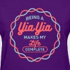 Being Yia Yia T-shirt - Women's T-Shirt