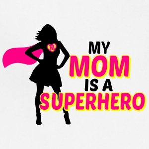 my mom is a superhero Kids' Shirts - Adjustable Apron