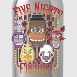 Five Nights At Freddy's Multi Character - Water Bottle