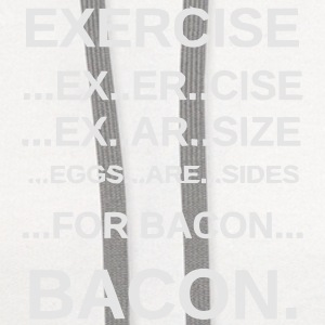 EXERCISE BACON Kids' Shirts - Contrast Hoodie