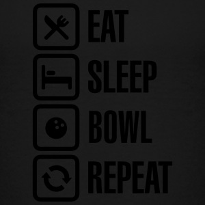 Eat -  sleep - bowl - repeat (Bowling) Kids' Shirts - Toddler Premium T-Shirt