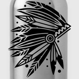 Chieftain's Headdress Kids' Shirts - Water Bottle