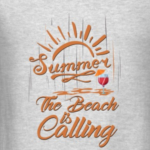 The Beach is Calling Tanks - Men's T-Shirt