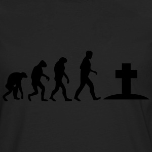 graveyard evolution T-Shirts - Men's Premium Long Sleeve T-Shirt