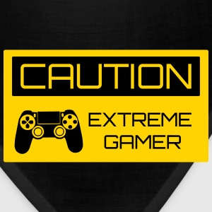 Caution Extreme Gamer Kids' Shirts - Bandana