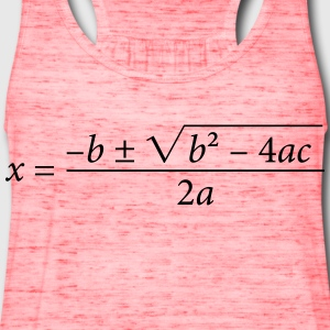 Quadratic Formula - Women's Flowy Tank Top by Bella