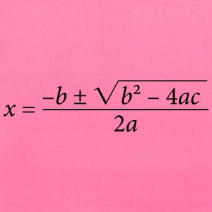 Quadratic Formula - Tote Bag