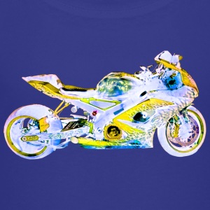 Suzuki GSX-R 1000 BLUE YO Kids' Shirts - Toddler Premium T-Shirt