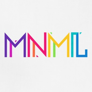 Minimal Type (Colorful) Typography - Design Kids' Shirts - Adjustable Apron