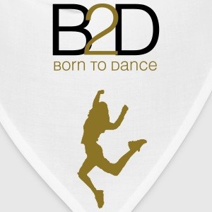 born to dance (woman) Kids' Shirts - Bandana