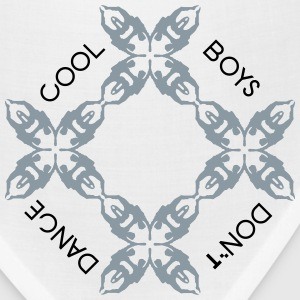 cool boys dont dance Kids' Shirts - Bandana