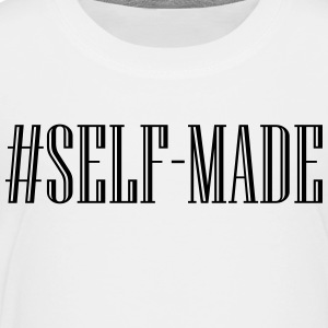 Self Made - Black Kids' Shirts - Toddler Premium T-Shirt