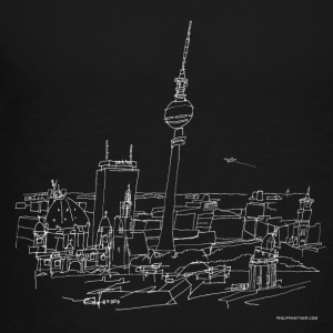 Drawing Berlin (white) Kids' Shirts - Toddler Premium T-Shirt