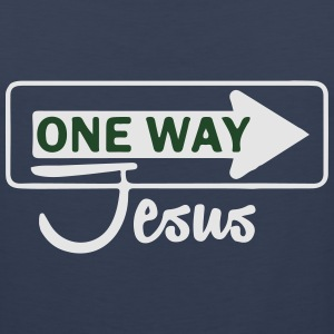 Catholic design - One WayJesus T-Shirts - Men's Premium Tank