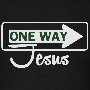 Catholic design - One WayJesus Sportswear - Men's T-Shirt