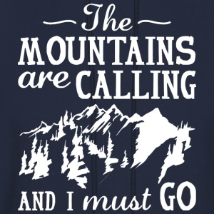 The Mountains Are Calling - Men's Hoodie