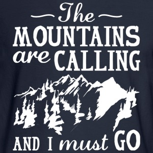 The Mountains Are Calling - Men's Long Sleeve T-Shirt