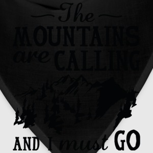 The Mountains Are Calling - Bandana