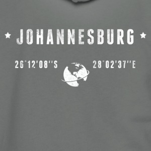 Johannesburg T-Shirts - Unisex Fleece Zip Hoodie by American Apparel