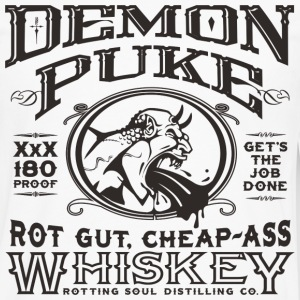 Demon Puke Whiskey - Men's Premium Long Sleeve T-Shirt