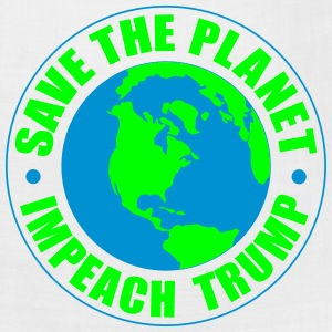 save the planet impeach trump T-Shirts - Bandana