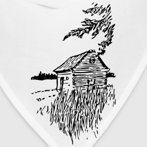Cabin On The Plains - Bandana