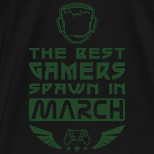 Gamers Spawn in March Hoodies - Men's Premium T-Shirt