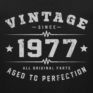 1977 Aged To Perfection T-Shirts - Men's Premium Tank