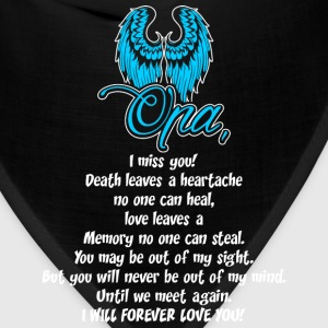 Opa I Miss You T-Shirts - Bandana