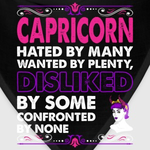 Capricorn Hated By Many Wanted Plenty T-Shirts - Bandana